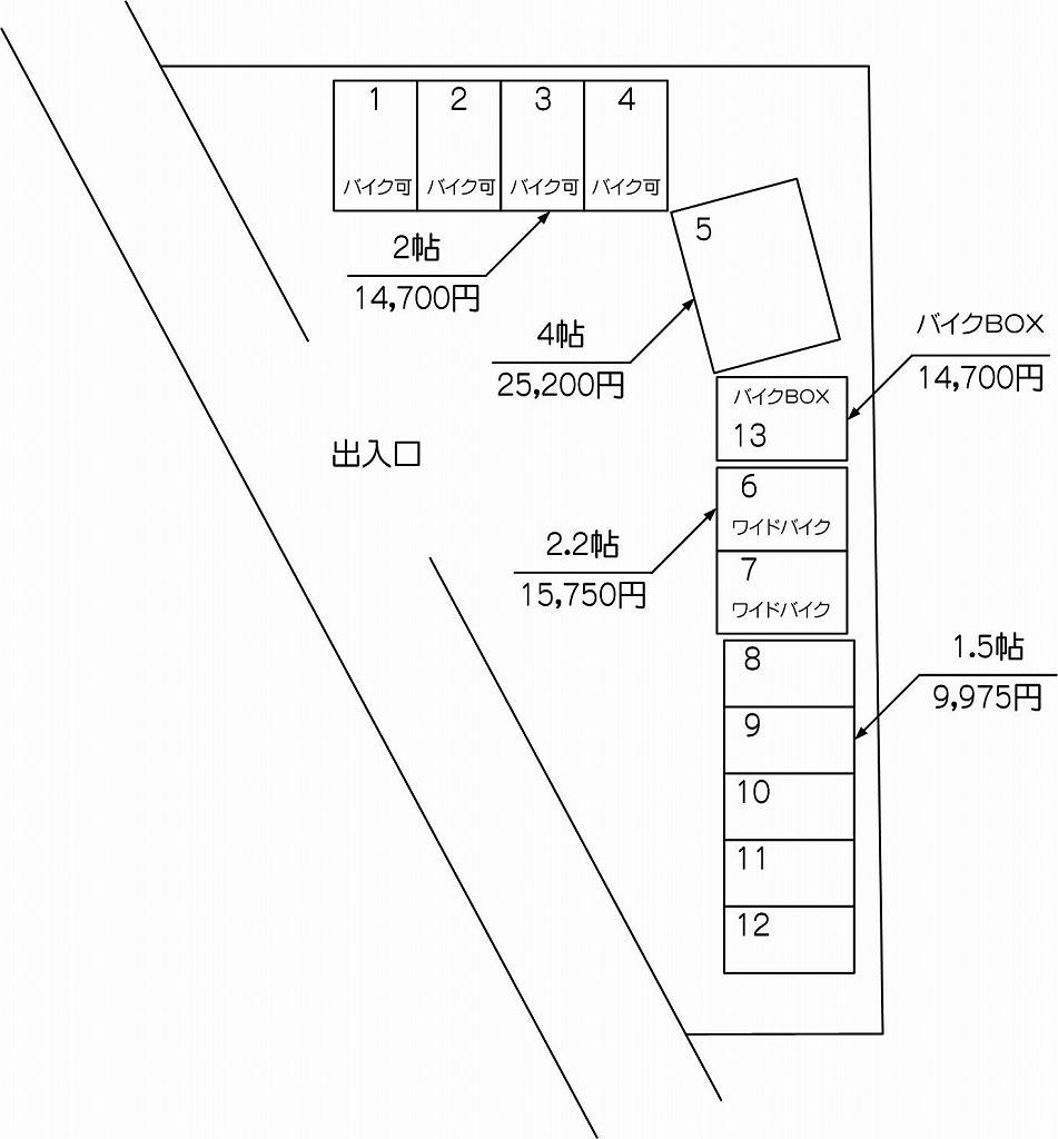 戸田ステーション店の配置図