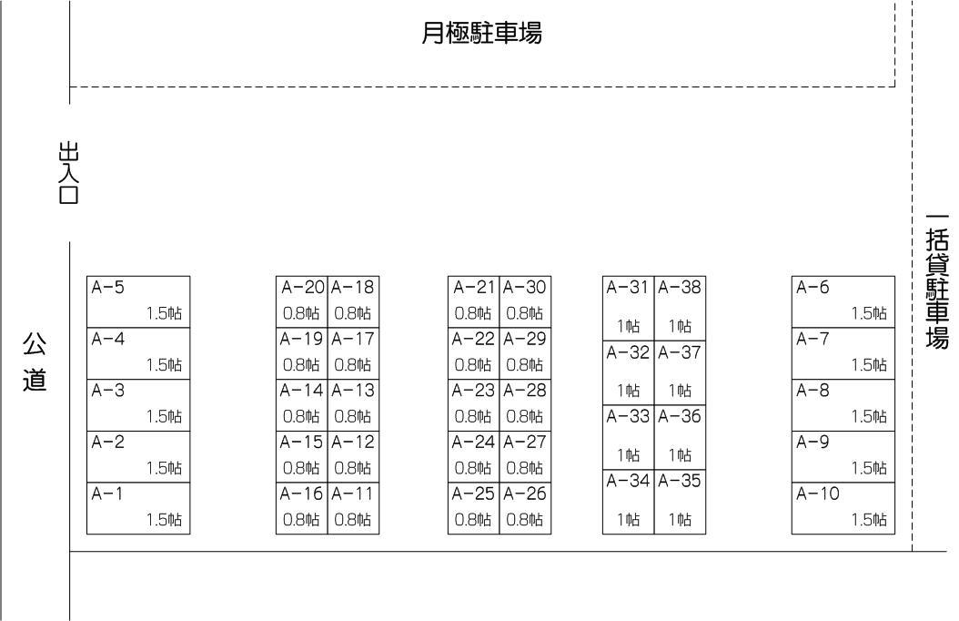 戸田店の配置図